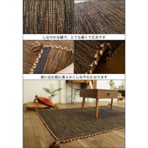 キリム ラグ 90x130 ラグマット おしゃれ 綿 手織りインド キリム カーペット 絨毯 エスニック 柄 ネイティブ オルテガ kilim|ragmatst|07
