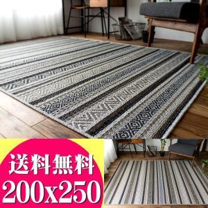 ラグ エスニック 風 3畳 ラグマット 200x250 じゅうたん おしゃれ な 長方形 夏用 通販 カーペット 送料無料|ragmatst