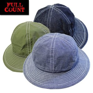 94a483bba88 FULL COUNT フルカウント キャップ 6101 US ARMY HAT デニム アーミーハット 帽子 ヴィンテージ
