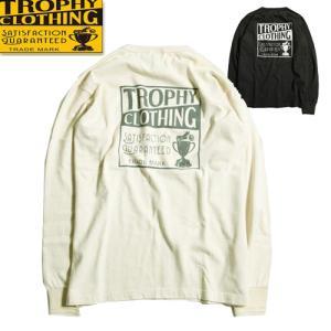 トロフィークロージング TROPHY CLOTHING ボックスロゴ ポケット付き Tシャツ TR2...