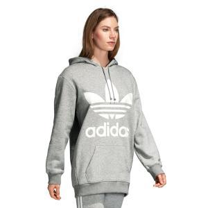 アディダス オリジナルス adidas originals スウェット パーカー レディース ロゴ トレフォイル フーディー ブランド 黒 灰色 XS S M L O XO BF TREFOIL HOODIE raiders 13