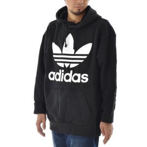 アディダス オリジナルス パーカー メンズ adidas originals ロゴ トレフォイル オーバーサイズ フーディー ブランド TREFOIL OVERSIZED HOODIE CW1246 DH5769|raiders|02