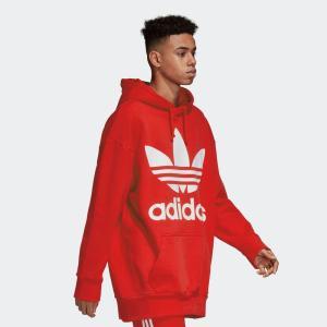 アディダス オリジナルス パーカー メンズ adidas originals ロゴ トレフォイル オーバーサイズ フーディー ブランド TREFOIL OVERSIZED HOODIE CW1246 DH5769|raiders|15