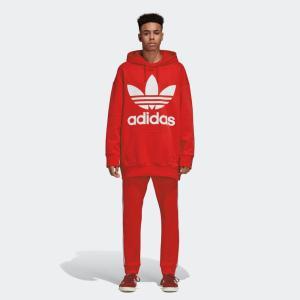 アディダス オリジナルス パーカー メンズ adidas originals ロゴ トレフォイル オーバーサイズ フーディー ブランド TREFOIL OVERSIZED HOODIE CW1246 DH5769|raiders|17