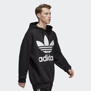 アディダス オリジナルス パーカー メンズ adidas originals ロゴ トレフォイル オーバーサイズ フーディー ブランド TREFOIL OVERSIZED HOODIE CW1246 DH5769|raiders|07