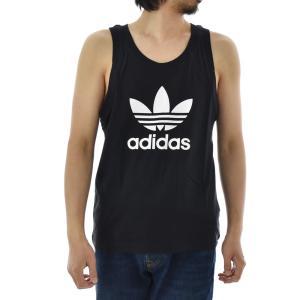 アディダス オリジナルス adidas originals タンクトップ メンズ ランニングシャツ ノースリーブ トレフォイル ロゴ ブランド 黒 白 TREFOIL TANK DV1508 DV1509|raiders|02