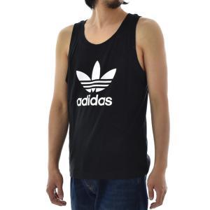 アディダス オリジナルス adidas originals タンクトップ メンズ ランニングシャツ ノースリーブ トレフォイル ロゴ ブランド 黒 白 TREFOIL TANK DV1508 DV1509|raiders|03