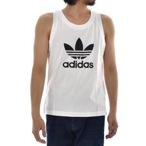 アディダス オリジナルス adidas originals タンクトップ メンズ ランニングシャツ ノースリーブ トレフォイル ロゴ ブランド 黒 白 TREFOIL TANK DV1508 DV1509|raiders|05