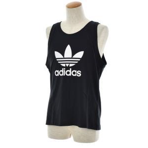 アディダス オリジナルス adidas originals タンクトップ メンズ ランニングシャツ ノースリーブ トレフォイル ロゴ ブランド 黒 白 TREFOIL TANK DV1508 DV1509|raiders|07