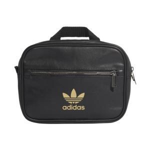 アディダス オリジナルス adidas originals バッグ リュック ミニ エアライン バックパック リュックサック ショルダーバッグ レディース ブランド 黒 金 FL9626|raiders|07