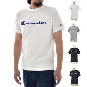 チャンピオン Champion Tシャツ ベーシック Tシャツ ロゴ C3-H374 半袖Tシャツ[M便 1/1]