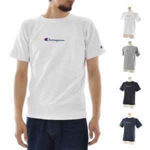 チャンピオン Champion Tシャツ リバースウィーブ ロゴ刺繍 半袖Tシャツ TEE メンズ シンプル スポーツ アウトドア カジュアル ストリート C3-M304|raiders
