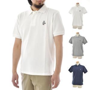 チャムス CHUMS ポロシャツ メンズ  ブービーポロシャツ ポロ ブランド ビジカジ アウトドア 白 紺 ヘザーグレー 灰色 Boby Booby Polo Shirt CH02-1109 raiders