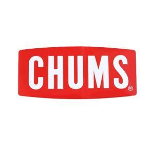 チャムス CHUMS ステッカー シール ステッカー ロゴ ボートロゴ ラージ 大きめ アウトドア キャンプ 屋外用 車用 おしゃれ かわいい ロゴ CH62-1058|raiders