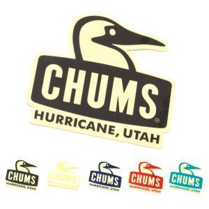 チャムス CHUMS ステッカー シール ステッカーブービーフェイス メンズ レディース キッズ カスタム ステッカーチューン 車 定番 おしゃれ ブラック CH62-1124|raiders