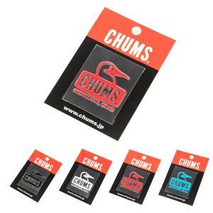 チャムス CHUMS ステッカー シール ブービーフェイスエンボスステッカー ミニステッカー ロゴ メンズ レディース くり抜き ブラック ホワイト CH62-1127|raiders