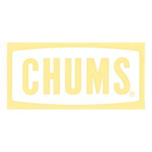 チャムス CHUMS ステッカー シール カッティングシートチャムスロゴ ボートロゴ Lサイズ カッティングステッカー ロゴ くり抜き ホワイト 白 CH62-1482|raiders