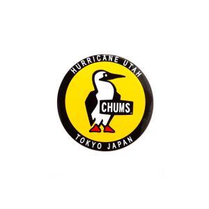 チャムス CHUMS ステッカー シール ステッカーラウンドブービーバード 丸型 メンズ レディース キッズ カスタム ステッカーチューン 車 定番 おしゃれ CH62-0156|raiders