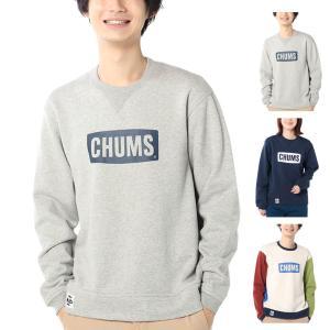 チャムス CHUMS トレーナー チャムスロゴクルートップ プルオーバー 長袖 トップス ボードロゴ メンズ レディース アウトドア キャンプ グレー CH00-1299 raiders
