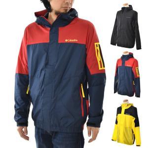 コロンビア Columbia ジャケット パブロフロードジャケット マウンテンパーカー メンズ アウター ブランド 撥水 ブラック 黒 PAVLOF ROAD JACKET PM3732|raiders
