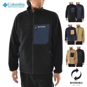 コロンビア Columbia フリースジャケット シュガードーム  リバーシブル ジャケットボアフリース メンズ アウトドア SUGER DOME REVERSIBLE JACKET PM1632|raiders