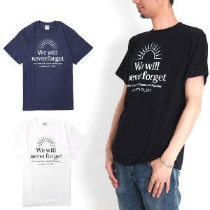 <東日本大震災被災企業復興支援企画> CREAM ROLL クリームロール We Will Never Forget Tシャツ 半袖Tシャツ[M便 1/1] メンズ raiders