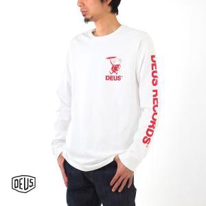 デウス エクス マキナ Deus ex Machina Tシャツ アントレー 長袖Tシャツ DMP61018A