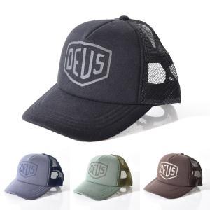 4a1e0ccba9e6f2 Deus デウス キャップ デウスエクスマキナ 帽子 ジャージー シールド トラッカー メッシュキャップ メンズ DMF77929|raiders  ...