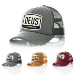 デウス エクス マキナ Deus ex Machina キャップ MORETOWN TRUCKER モルタウン トラッカー 帽子 メッシュ メンズ ブランド デウスエクスマキナ DMP87096|raiders