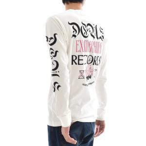 デウス エクス マキナ Deus ex Machina Tシャツ PAN SONIC LS TEE 長袖Tシャツ ロンT デウスエクスマキナ ヴィンテージ ホワイト S M L DMP81122A メンズ|raiders