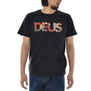 Deus ex Machina デウス エクス マキナ Tシャツ ロゴ チューロ オール キャップス Chulo All Caps Tee ロゴT  TEE メンズ ブランド 黒 M L JMP91738A raiders