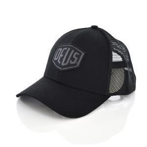 Deus ex Machina デウス エクス マキナ キャップ 帽子 ウーブン シールド トラッカー メッシュキャップ メンズ デウスエクスマキナ ブランド ロゴ DMS87682|raiders
