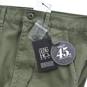 ガンホー GUNG HO パンツ 45周年 オーセンティック ベイカーパンツ メンズ ファティーグ ファティーグパンツ カーゴパンツ チノパン GUNHO 復刻 882HD99367|raiders|15