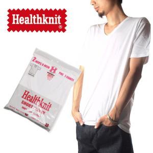 (ヘルスニット) Healthknit 2PAC V Neck Tシャツ 2パック メンズ raiders
