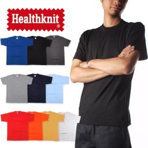 (ヘルスニット) Healthknit Tシャツ 無地 2枚セット メンズ raiders