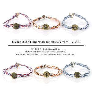 hiyuca×Fisherman japan ヒユカ×フィッシャーマンジャパン/ブレスレット メンズ raiders 02