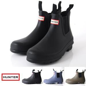 HUNTER 長靴 サイドゴア ショート レインブーツ チェルシー レディース HWFS1020RTT HWFS1021RMA