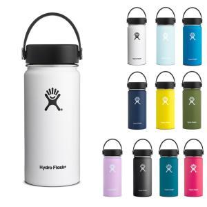 ハイドロフラスク Hydro Flask 16oz ウォーターボトル ステンレスボトル 水筒 ハイドレーション 16オンス ワイドマウス 5089022 HYDRATION 473ml 保温 保冷|raiders
