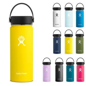 ハイドロフラスク Hydro Flask 18oz ウォーターボトル ステンレスボトル 水筒 ハイドレーション 16オンス ワイドマウス 5089023 HYDRATION 532ml 保温 保冷|raiders