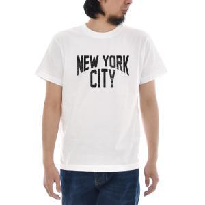 ジャスト Tシャツ NEW YORK CITY 半袖Tシャツ メンズ おしゃれ 大きいサイズ ジョンレノン ジョン レノン ニューヨーク シティ 白 S M L XL XXL XXXL 3L 4L|raiders