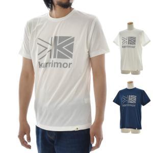 カリマー karrimor Tシャツ ロゴ T vol1 半袖Tシャツ メンズ レディース 大きいサイズ 速乾 Primeflex プライムフレックス アウトドア 白 ホワイト SM-DI19-0802|raiders