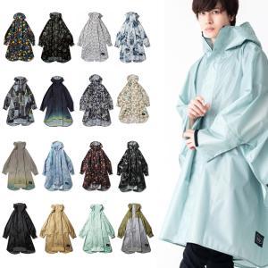 KiU キウ レインウェア ニュースタンダード レインポンチョ メンズ レディース レインコート 雨具 カッパ 収納袋付き 雨 撥水加工 フリーサイズ アウトドア K163|raiders