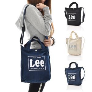 Lee リー バッグ ロゴ トートバッグ ショルダーバッグ 2way メンズ レディース キッズ ブランド マザーズバッグ 通勤 通学 キャンバス 白 デニム 黒 0425315|raiders