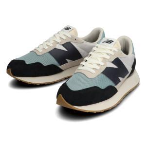ニューバランス new balance 靴 スニーカー MS237 ビッグNロゴ レディース キッズ アウトドア ジョギングシューズ ランニングシューズ ブラック 黒 MS237HL1|raiders