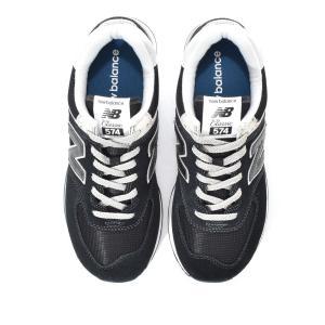 d56bb4df078050 ... ニューバランス new balance ML574 EGK 574 レディース メンズ スニーカー ブラック 黒 スエード 23.0cm  23.5cm ...