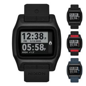 ニクソン NIXON 腕時計 時計 防水 デジタル サーフウォッチ ハイタイド High Tide メンズ レディース 10気圧防水【サステナブル素材】【リサイクル素材】|raiders