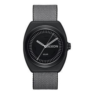ニクソン NIXON メンズ 腕時計 ライトウェーブ ソーラー発電 サーフウォッチ エコ eco 黒 Light-Wave A1322【サステナブル素材】【リサイクル素材】|raiders
