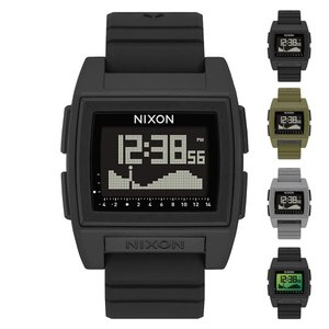 ニクソン NIXON 腕時計 時計 防水 デジタル ウォッチ ベース タイド プロ メンズ レディース ブランド アウトドア サーフィン 黒 THE BASE TIDE PRO A1212|raiders