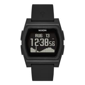 ニクソン NIXON メンズ レディース 腕時計 ライバル サーフウォッチ エコ eco タイド 黒 Rival A1310【サステナブル素材】【リサイクル素材】|raiders