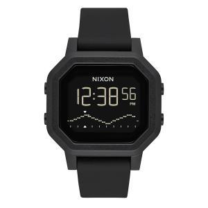 ニクソン NIXON メンズ レディース 腕時計 セイレン セイレーン サーフウォッチ エコ eco タイド 黒 Siren A1311【サステナブル素材】【リサイクル素材】|raiders